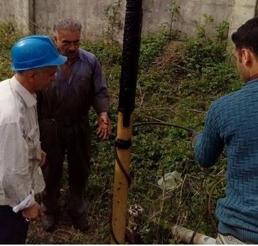 رفع اُفت فشار آب آشامیدنی 700 خانوار روستایی