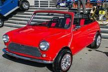 همایش 150 خودروی کلاسیک در ارومیه برگزار شد