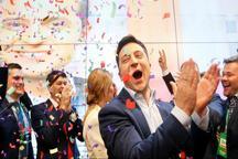 پیروزی «ولادیمیر زیلنسکی» در انتخابات ریاست جمهوری اوکراین