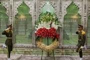 ۱۲۰۰ موکبدار عراقی به مقام شامخ امام راحل ادای احترام کردند