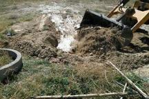 انسداد چاههای غیرمجاز و رفع تصرف اراضی در دیواندره
