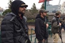 حامیان ترامپ با اسلحه به خیابان آمدند