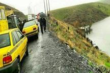 راننده تاکسی در سردشت از مرگ حتمی نجات یافت