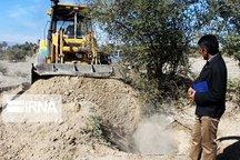 ۷۲ حلقه چاه غیر مجاز آب در خرامه و بوانات فارس پُر شدند