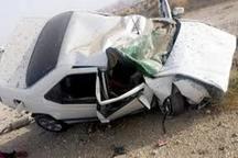 واژگونی خودرو در دیر یک کشته داشت