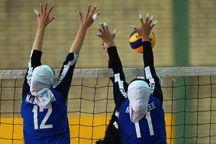 دختران جوان آذربایجانغربی مقابل تیم والیبال سمنان پیروز شدند