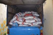 کشف ۶۵ میلیونی برنج قاچاق خارجی در رودسر