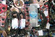 انبار حاوی چهار تریلی لوازم یدکی در مشهد کشف شد