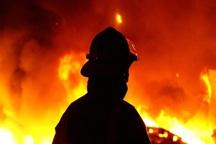 آتش سوزی یک مغازه خیاطی در قزوین مهار شد