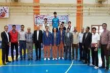قهرمانی تیم تکواندو دانشگاه ارومیه در منطقه 3 کشور