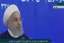 روحانی : صدور مجوز ساخت در بستر رودخانه ها، معامله جان مردم با پول کثیف است
