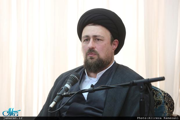 Image result for در دیدار با اعضای ستاد مرکزی بزرگداشت امام؛ سید حسن خمینی