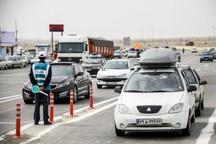ورود 224 هزار وسیله نقلیه به سمنان ثبت شد