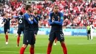 امپابه بهترین بازیکن دیدار فرانسه و پرو