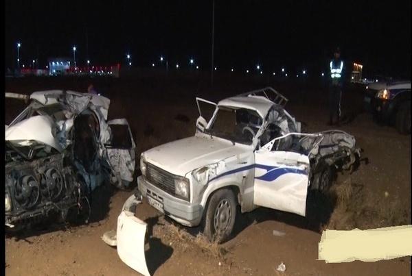 تصادف خونین در محور میمه-اصفهان  3 نفر کشته و 8 نفر زخمی شدند