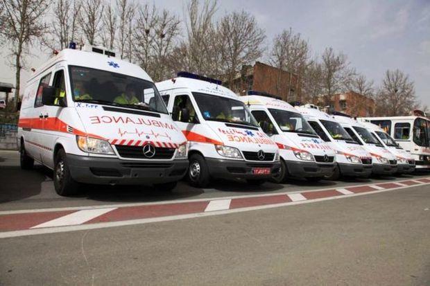 700 بیمار با کمک اورژانس یزد یک سال گذشته از مرگ نجات یافتند