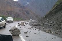 مسافران مراقب ریزش کوه در جاده های خراسان شمالی باشند
