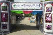سومین جشنواره گلاب گیری و نمایشگاه سوغات استانها در تهران آغاز شد