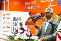 بقای صنعت سنگ نیازمند نهضت فرآوری و صادرات است