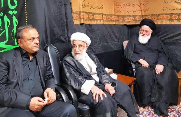 عزاداری سرور و سالار شهیدان در دفتر امام جمعه مشهد برگزار شد