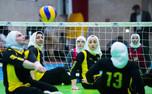 تیم ملی والیبال نشسته بانوان از صعود به یک هشتم نهایی بازماند