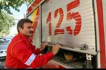 آتش نشانان آستارا و لاهیجان تجلیل شدند