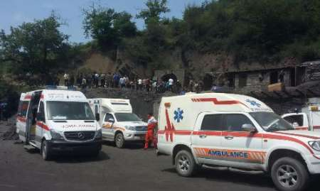 سرپرست اورژانس، تعداد مصدومان معدن آزادشهر را 72 نفر اعلام کرد