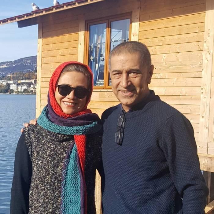 فلورا سام و همسرش