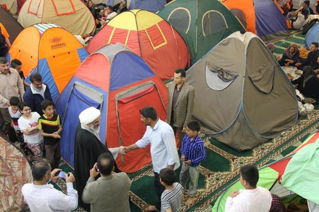 همه مصلاهای بوشهر دراختیار مسافران نوروزی قرارگرفت
