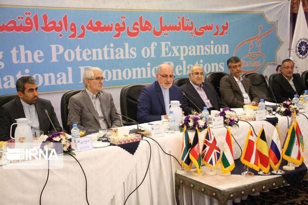 تعاملات بین المللی استان کرمان ارتقا مییابد