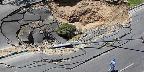 ۵ منطقه تهران دچار فرونشست زمین شدند