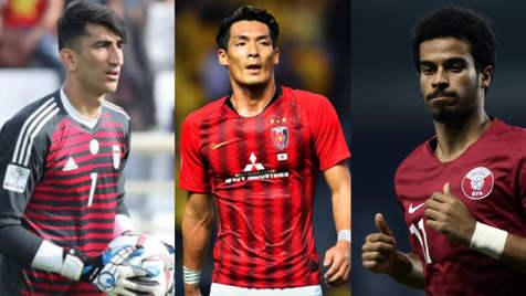 آمار عملکرد نامزدهای مرد سال فوتبال آسیا 2019/ حسرت 15 ساله، با بیرانوند تمام می شود؟