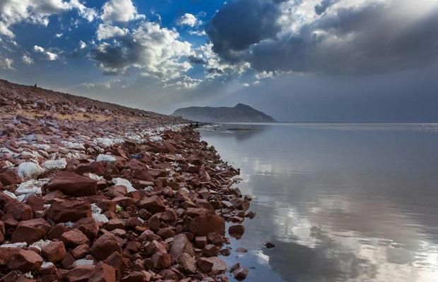 تراز دریاچه ارومیه 7سانتی متر بیشتر از مدت مشابه سال قبل است