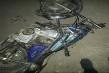 برخورد دو موتورسیکلت در شوشتر یک کشته و دو مصدوم برجا گذاشت