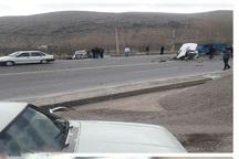 تصادف در جاده ماکو - تبریز 6 کشته و یک زخمی برجا گذاشت