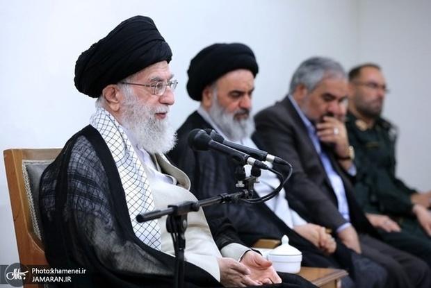 بیانات رهبر معظم انقلاب در دیدار دستاندرکاران کنگره شهدای استان کردستان