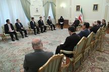 رئیسجمهوری: از توسعه روابط و همکاریهای همه جانبه تهران - توکیو استقبال میکنیم /ما با تحریم کشورها مخالفیم