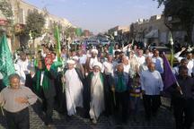برگزاری پیاده روی حرم تا حرم به مناسبت عید غدیرخم در یزد