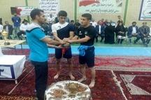 پایان رقابتهای کشتی سنتی در قزوین