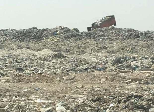 ادامه بیقانونی در زبالهدان اهواز