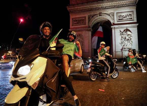 خشم راستگرایان افراطی فرانسه از شادی مردم الجزایر و تکرار سخنان نژادپرستانه ترامپ