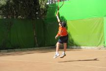 قرار گرفتن تنیس باز زیر 10 سال مراغه در رده بندی هشتم کشوری