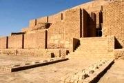 معبد تاریخی چغازنبیل از جاذبه های گردشگری در شهر باستانی شوش+ تصاویر