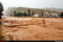 قطع راههای روستایی در ۴ شهرستان استان لرستان  کمبود مواد غذایی در برخی روستاهای محصور در سیل و برف