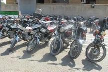 160دستگاه موتورسیکلت در خلخال توقیف شد