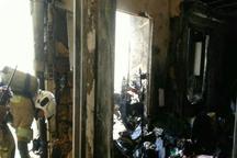 آتش سوزی مجتمع مسکونی در تهران 4 مصدوم برجا گذاشت