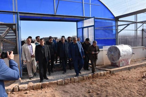 سه طرح کشاورزی در اسفراین افتتاح شد