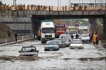 علت تجمع آب در زیر پل فجر مشهد اعلام شد