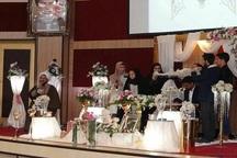 جشن ازدواج ۲۳ زوج دانشجو در دانشگاه بناب برگزار شد