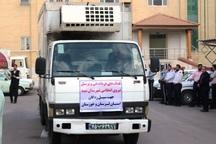 کمک های پلیس یزد به مناطق سیل زده ارسال شد